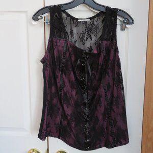 faux corset top